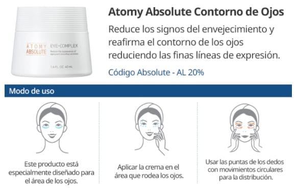 Atomy Contorno de Ojos