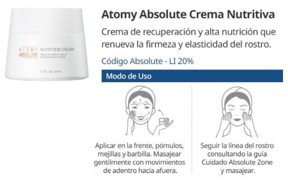 Atomy Crema Nutritiva