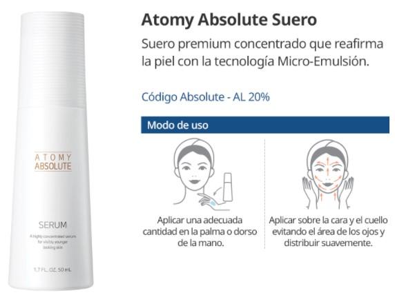 Cómo Usar Atomy Suero - Serum